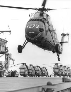 U.S. Marine Corps Sikorsky HUSorH-34. Photo courtesy of Frank Colucci