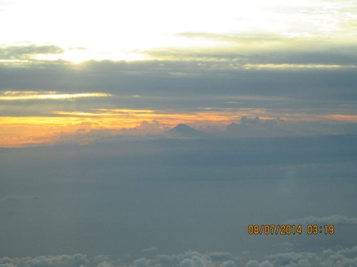 Sunset Mt. Fuji