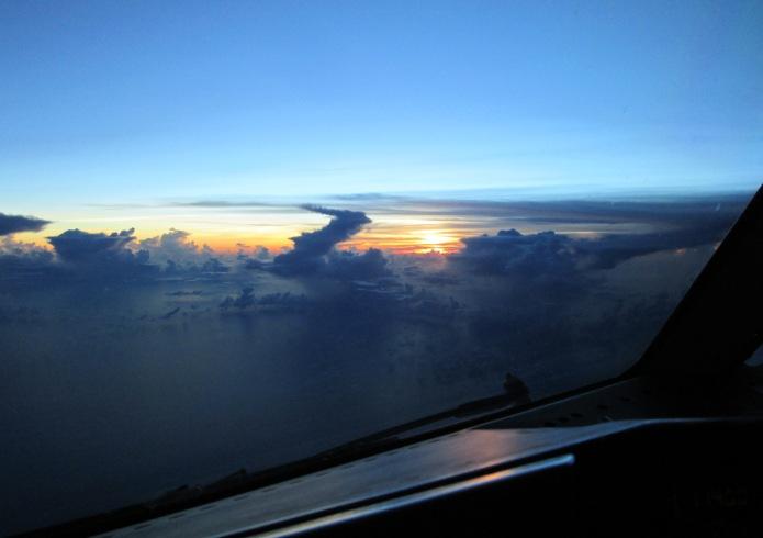 Dawn South China Sea SIN to NRT