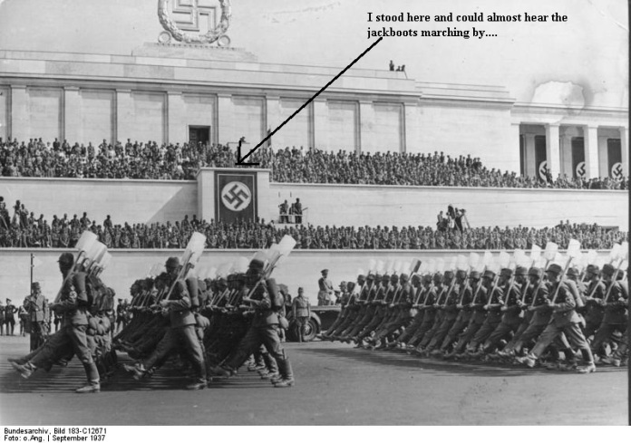 Nürnberg, Reichsparteitag, RAD-Parade